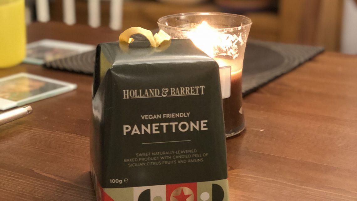 Vegan Panettone