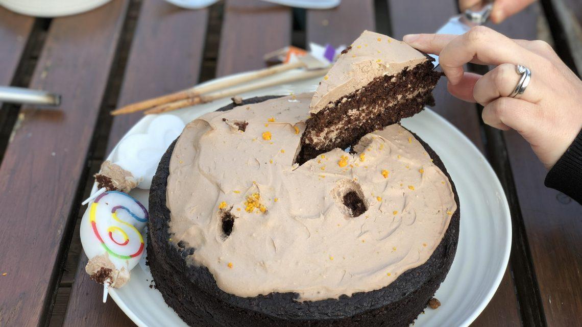 Cake, twice!